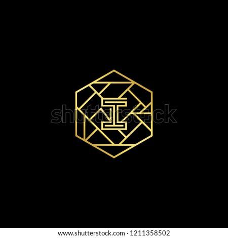 letter i ii minimalist art
