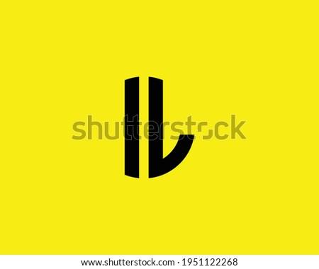 letter il logo design vector template Foto d'archivio ©