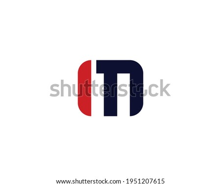 letter im logo design vector template Stok fotoğraf ©