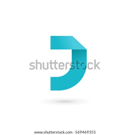 letter j logo icon design