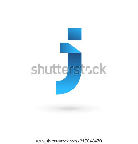 letter j logo icon design