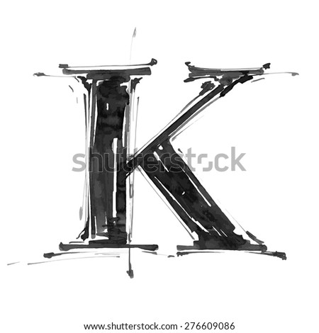 letter k alphabet symbol