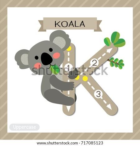 letter k uppercase cute