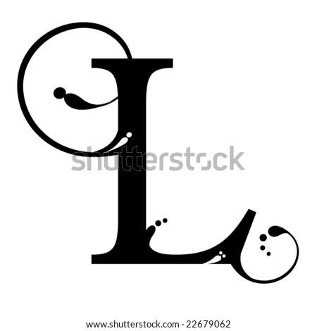 Letter L Stock Vector 22679062 : Shutterstock