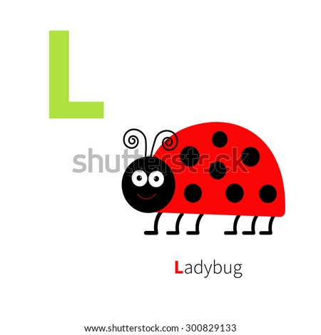 letter l ladybug zoo alphabet