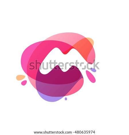 Vector Lines and Splatter Background Banner Design