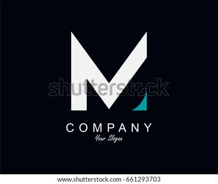 Letter M Logo Icon Design Template Element