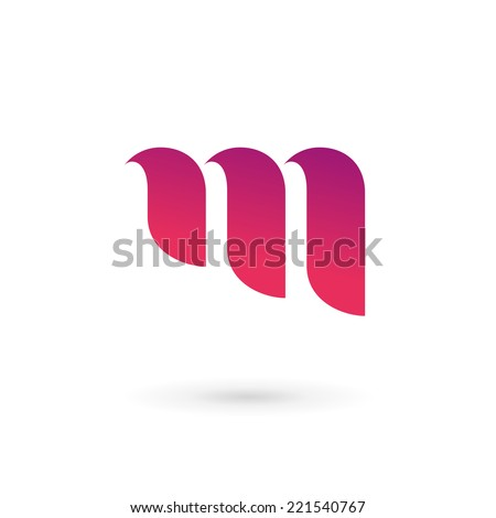 letter m logo icon design