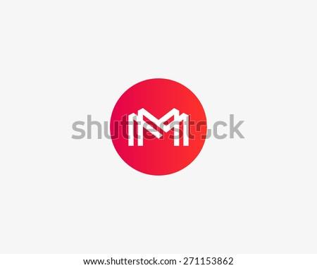 letter m logo icon vector design