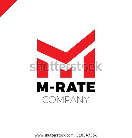 letter m logo or mm initials