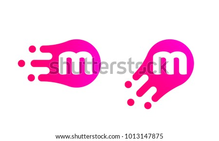 8af1069629a beautiful letter m logo template of abstract liquid bubble shape for modern  company vector creative m with bubble letter m