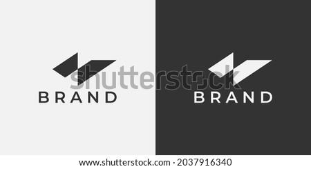 Letter N logo design, simple vector symbol. Abstract N logo illustration for clothing brand, sport, gym, and other. Modern and professional letter N logo design. Luxury N monogram logo inspiration. Foto stock ©