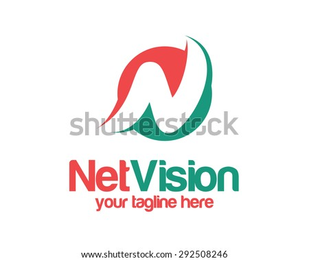 letter n logo template simple and clean letter n logo vector circle letter n