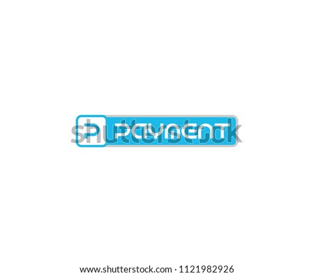 Letter P for Payment Logo Design Template