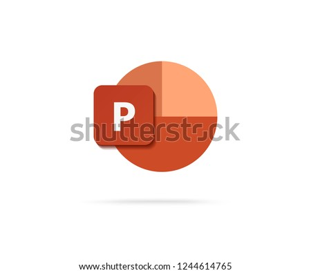 letter p icon vector
