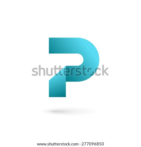 letter p logo icon design