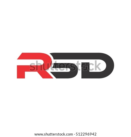 letter r and s and d logo design