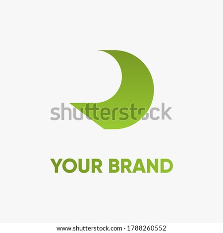 letter r logo. creative brand logo. Stok fotoğraf ©