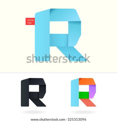 Letter R logo design template  Stylish vector icon. Letter R Logo Design Template  Stylish Vector Icon   325313096