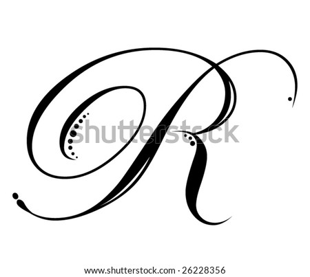 tattoo,letter r fancy fancy Best list of hand drawn tattoo andletter r cool design quick look