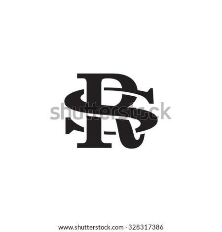 letter s and r monogram logo