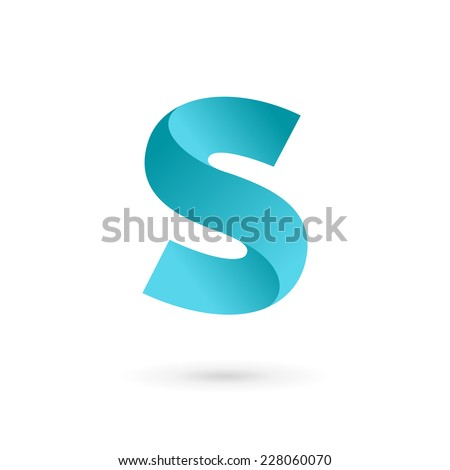 letter s logo icon design