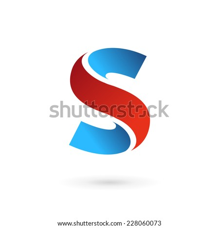 letter s logo icon design