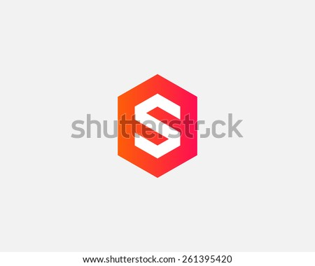 letter s logo icon vector design