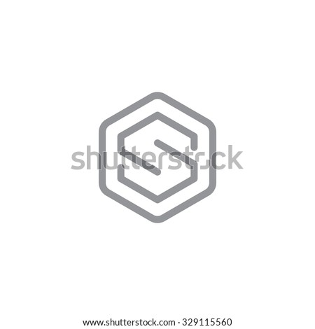 letter s logo   symbol   vector