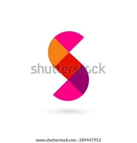 letter s mosaic logo icon design template elements ez canvas