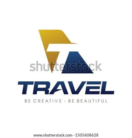 letter t for travel  airlines
