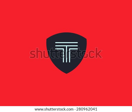 letter t logo icon vector design