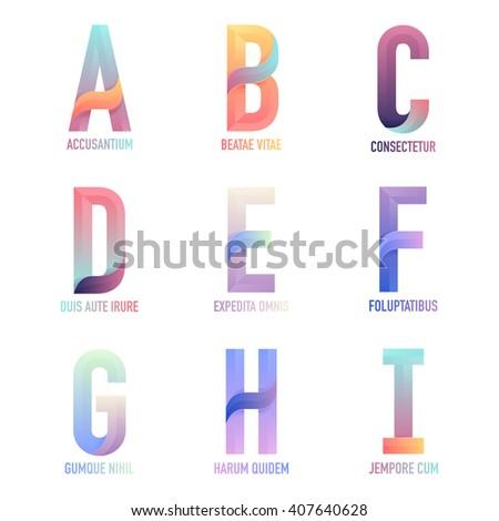 letter vector a  b  c  d  e  f