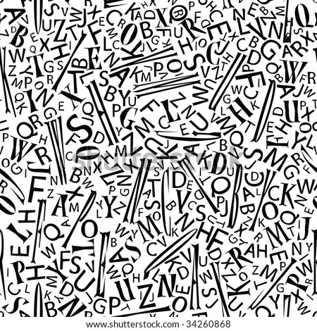 letter vector background