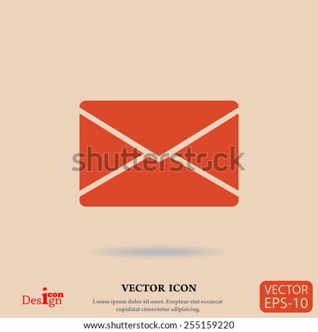 letter vector icon