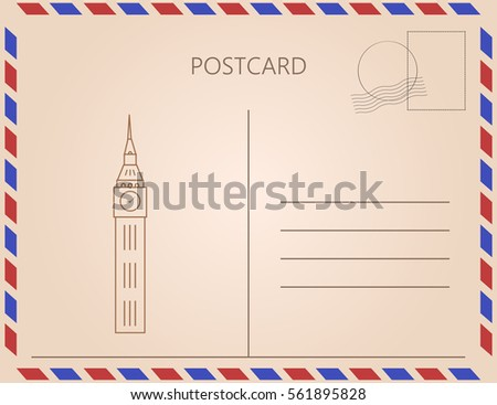 letter with big ben from...