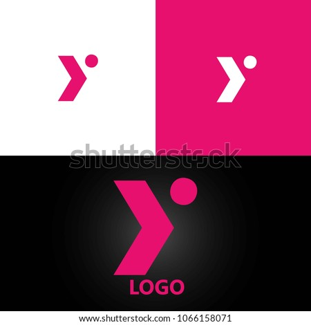 letter Y logo design template element. vector logotype