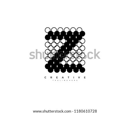 Abstract Creative Dots Logo Letter Z Download Free Vector Art