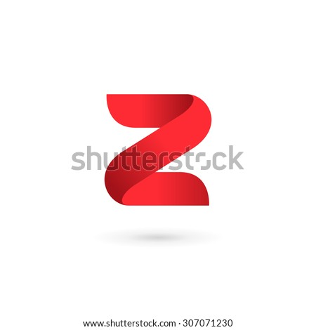 letter z digit 2 logo icon
