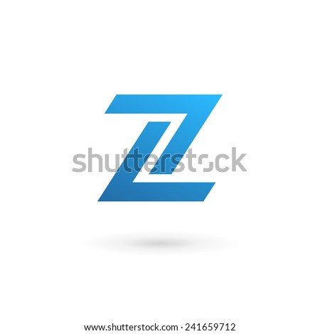 letter z number 2 logo icon