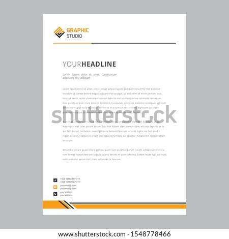 Letterhead Pad Design/ Clean Letterhead Pad/ Stationery Design