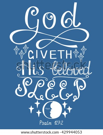 lettering bible god gives his