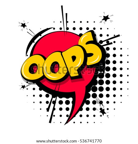 lettering oops  emotion  blame