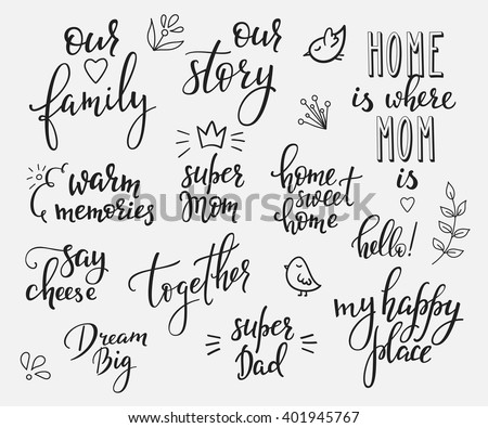 Find Free Family Words Images Stock Photos And Illustration Collections