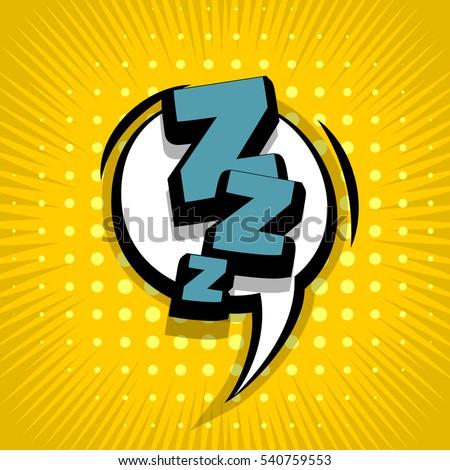 lettering zzz  sleep  dream