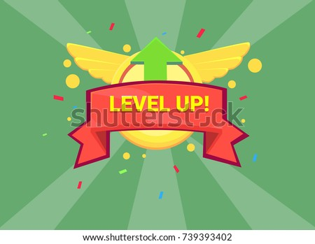Level up game icon