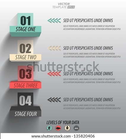 levels of your data / infographics