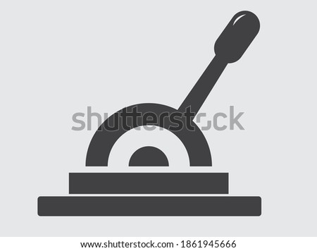 lever icon simple vector illustration Stock photo ©