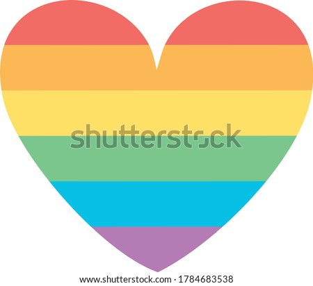 LGBT vector graphics eps. LGBT rainbow vector eps.lgbt heart vector eps. LGBT pride vector eps.
