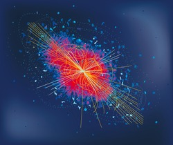 LHC partices collision